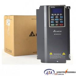 Частотный преобразователь Delta C2000 VFD015C43A 380В 1.5 кВт