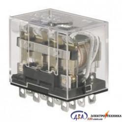 Реле промежуточное малогабаритное РП, контактная группа 4Z, 10А 24В DC
