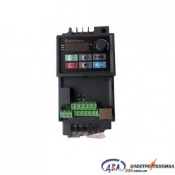 Частотный преобразователь Delta VFD-EL VFD002EL21A 220В 0.2 кВт