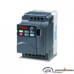 Частотный преобразователь Delta VFD-E VFD015E21A 220В 1.5 кВт