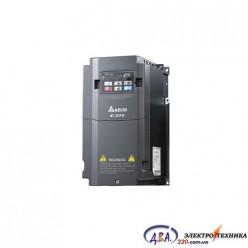 Частотный преобразователь Delta C200 VFD007CB43A-21 380В 0.75 кВт