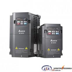 Частотный преобразователь Delta C200 VFD015CB43A-21 380В 1.5 кВт