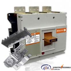Авт. выкл. ВА77-1-2500 3 полюса 2500А  4-6In  Icu 110кА    Ics 85кА  з електроприводом   + доп. конт