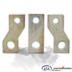Шина переходная габарит 250А (лужена медь, комплект 3 шт.)