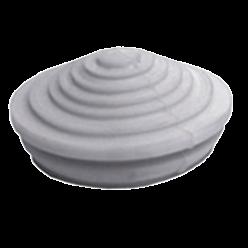 Сальник d = 20мм (Dотв.бокса 22мм) серый ІЕК