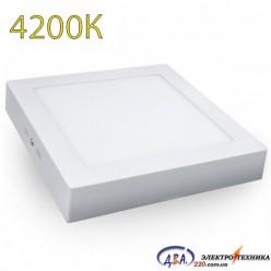 Светильник LED-SS-170-12 12Вт 4200К квадр. накладной 170*170