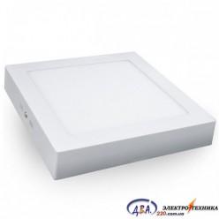 Светильник LED-SS-300-24 24Вт 6400К квадр. накладной 300*300