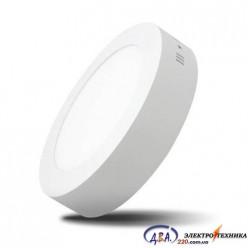 Светильник  LED-SR-170-12 12Вт 6400К круг накладной 170мм