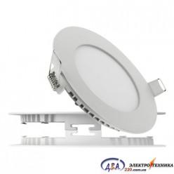 Светильник  LED-R-300-24 24вт 6400К круг встр. 300мм