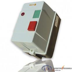 Пускатель 25А и реле в защитном корпусе Ue=220В/АС3 IP54 с индикатором