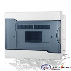 Бокс с прозрачной крышкой ЩРВ-П-8 для внутренней установки 8-и модульных устройств 730-1000-008