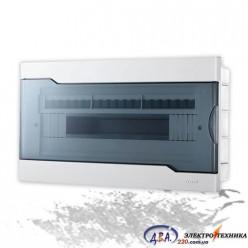 Бокс с прозрачной крышкой ЩРВ-П-18 для внутренней установки 18-и модульных устройств 730-1000-018
