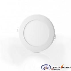 Светильник  LED-R-170-12 6400K (170mm) круг, встр.