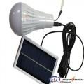 Светодиодная SMD лампа Right Hausen на аккумуляторе (зарядка + солнечная батарея)