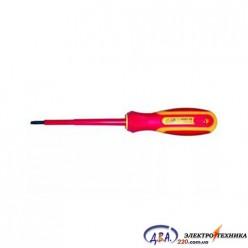 Отвертка диэлектрическая плоская SL6.0x150mm