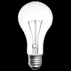Лампа накаливания ЛОН 200 Вт E27