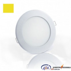 Светильник  LED SLIM-3 3Вт 4200К круг встр. 90мм