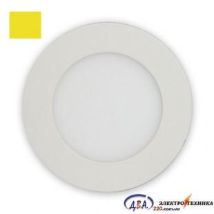 Светильник  LED SLIM-6 6Вт 4200К круг встр. 120мм