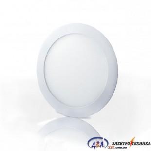 Светильник  LED-R-120-6 6Вт 6400К круг встр. 120мм