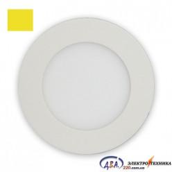 Светильник  LED-R-150-9 9Вт 4200К круг встр. 150мм