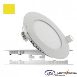 Светильник  LED-R-170-12 12Вт 4200К круг встр. 170мм