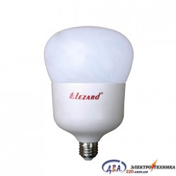 Lezard Лампа светодиодная LED T120 45W 6400K E27 (464-T120-2745) (30)