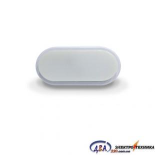 LED св-к LEBRON L-WLO, 8W,овал, 4100К, 720Lm, IP54