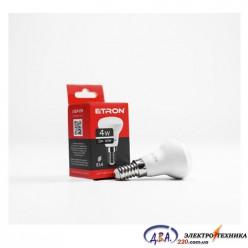 Лампа светодиодная ETRON  Light Power R39 4W 4200K E14 куля 1-ELP-074