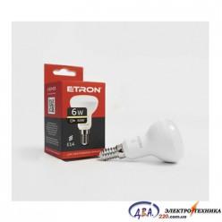 Лампа светодиодная ETRON  Light Power R50 6W 3000K E14 1-ELP-071