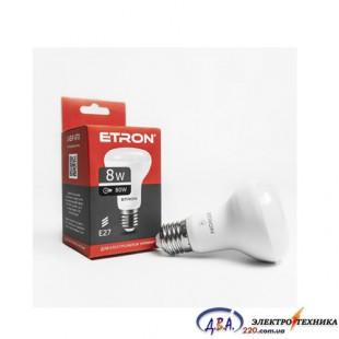 Лампа светодиодная ETRON  Light Power R63 8W 4200K E27 1-ELP-070
