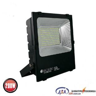 Прожектор SMD LED 200W 6400K чор. 17000Lm/5/leopar-200