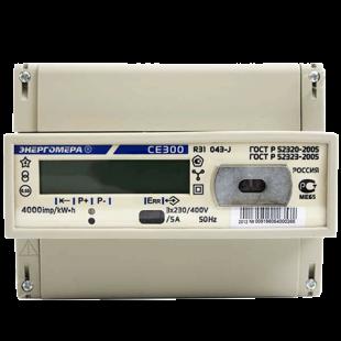 Счетчик (СЕ 300 R31 146J), 5 (100) А, 3ф 230 / 400В, кл.точн.1, електронный однотарифный