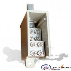 Кабельный разветвитель 6/100 (модульный, для ВА 1-100) 400В