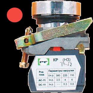 Кнопка ВК-011 НЦК 1Р  1НЗ  красная  ( PF )