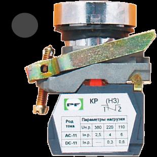 Кнопка ВК-011 НЦЧ 1З  1НО  чорная  ( PF )