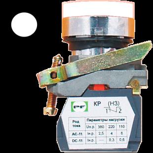 Кнопка ВК-011 НЦИЛБ 1З  1НО  белая ( PF )