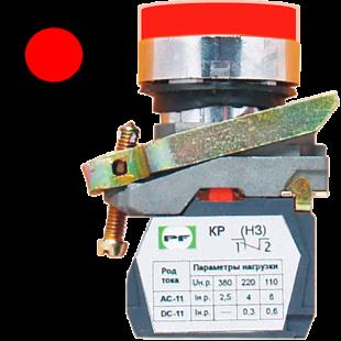 Кнопка ВК-011 НЦИЛК 1Р  1НЗ  красная ( PF )