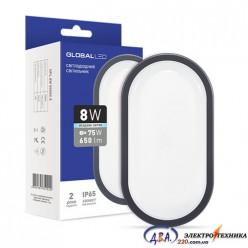 Светильник LED HPL 8W 5000K E ОВАЛ (1-HPL-002-E)