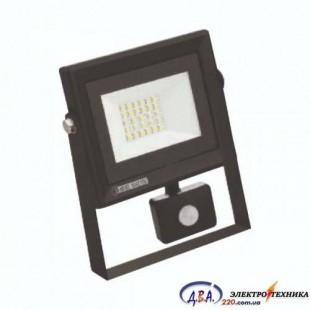 Прожектор з датчиком движения SMD LED 20W 6400K