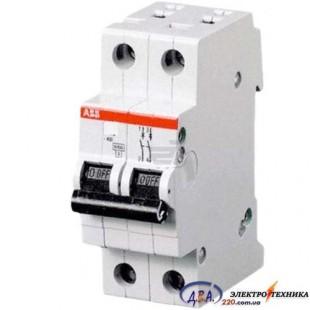 Автоматический выключатель 2р 40А С 4,5Ка АВВ  Basic M