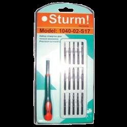 Набор отверток для точной механики STURM, 17шт