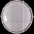 Светильник НПП1302 белый/круг с решоткой 60Вт IP54 IEK