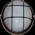 Светильник НПП1302 чорный/круг с решоткой 60Вт IP54 IEK