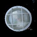 Светильник НПП2602 белый/круг с решеткой пластик 60Вт IP54 IEK