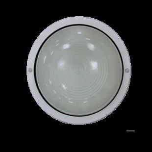 Светильник НПП2602А белый/круг  пластик 60Вт IP54 IEK