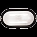 Светильник НПП2603А чорный/овал пластик 60Вт IP54 IEK