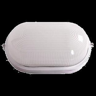 Светильник НПП1201 белый/овал 100Вт IP54 IEK