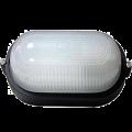 Светильник НПП1201 чорный/овал 100Вт IP54 IEK