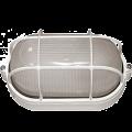 Светильник НПП1202 белый/овал с реш. 100Вт IP54 IEK
