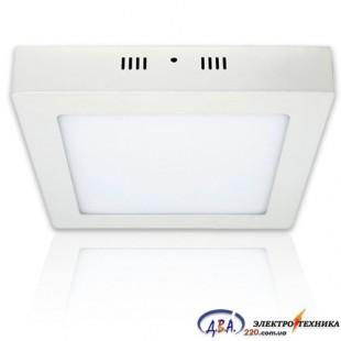 Светильник LED ARINA-48 48Вт 6000К квадр. накладной 600*600
